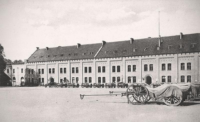 Zitadelle im Jahr 1914