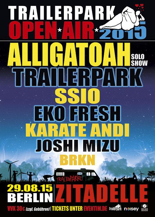 Trailerpark<small>Open Air 2015</small>